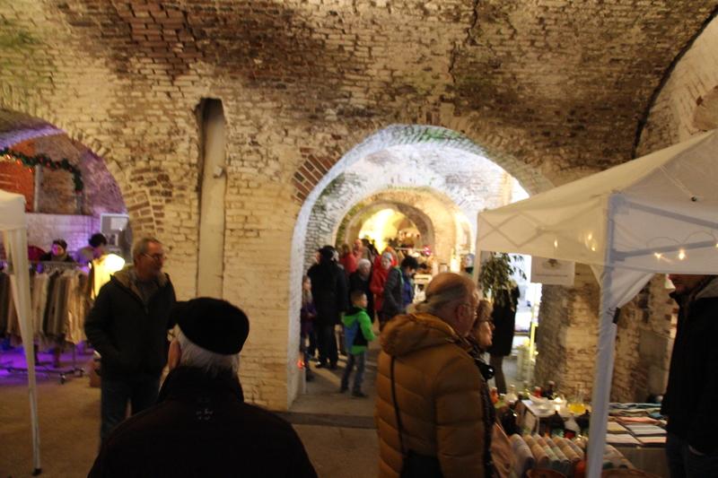 5. Adventsmarkt in der Südbastion des Brückenkopf Park Jülich
