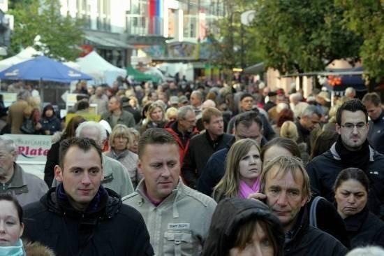 37. Itterfest in der Fussgängerzone von Hilden